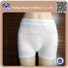 medical use hospital disposable panties women mesh panties