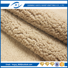 Hot Sell sherpa velvet fabric with long service life