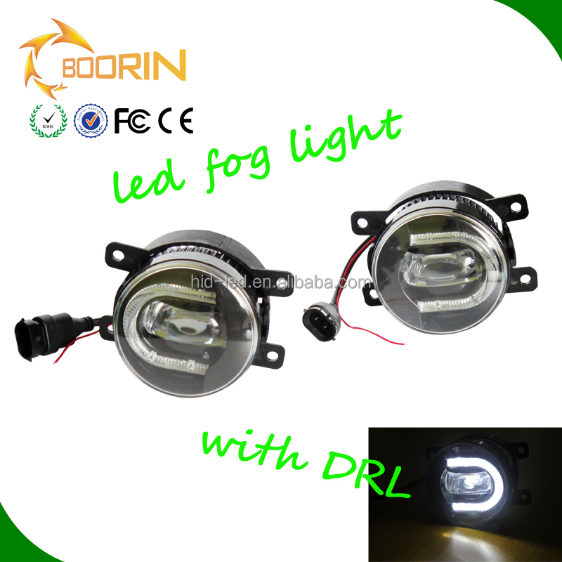 Accessories Car Parts 30W 3.5inch Led Car Fog Lighting Lights Auto DRL Daylights LED Fog Lamp Kit