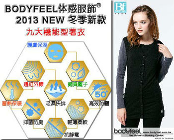 Far infrared heating clothes with collagen protein