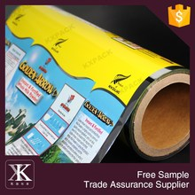 New Zealand Food Grade Milk Powder Packaging Plastic Roll Film