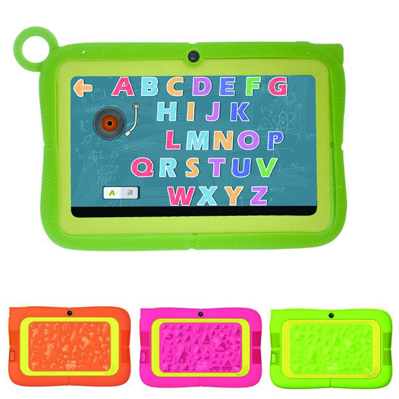 Bulk wholesale android tablets 7 inch Quad Core Kids tablet pc