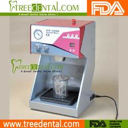 AX-2000C+ Dental Lab Vacuum Mixer Mixing Machine with electrice air release & adjustable mixing speed function dental mixer