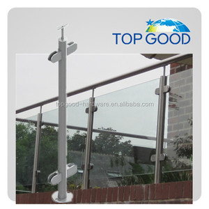 Wholesale stainless steel pipe handrail glass railing designs systems