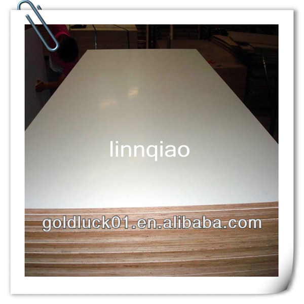 1830x3660mm mdf core melamine faced plywood