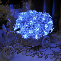 Christmas / party Lutos Petal shaped holiday decorative led string lights indoor/outdoor 6m 60leds