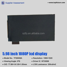 hdmi display 1080p 1080*1920 ips lcd diy projector panel
