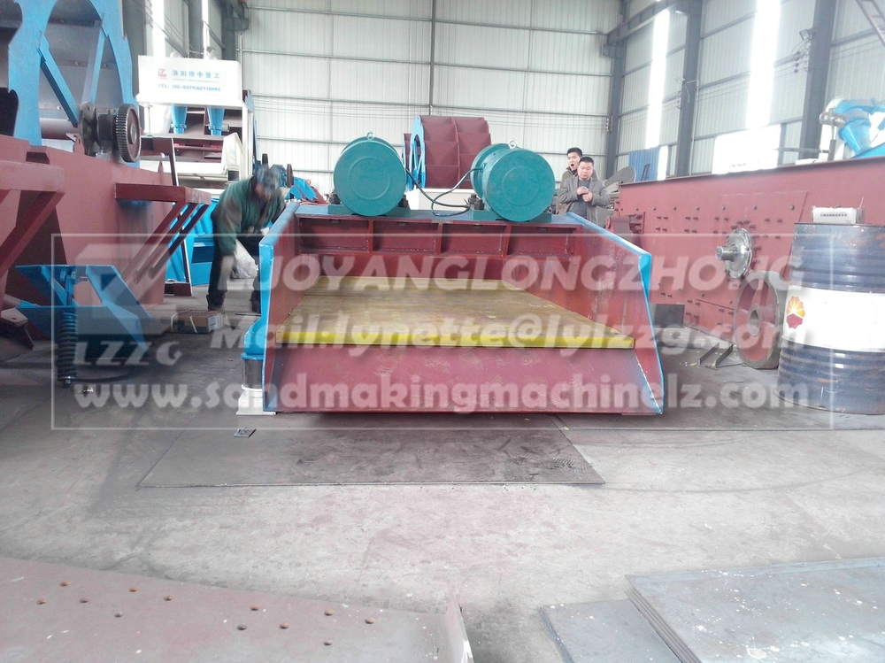 Dewatering sand vibration screen in good quality