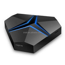7.0 android smart tv box magicsee iron+ 3+32gb ddr4 android 4k tv box arabic channel hot selling