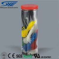PA66 various colors strong durability self-locking nylon cable tie