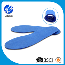 Sport gel silicone orthotic silicon shoe insoles with any color