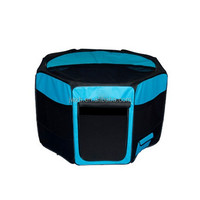 Zyzpet Octagon pet play pen bule color