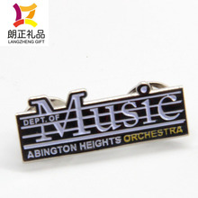 hot sale high quality music lapel pin from China enamel pins factory
