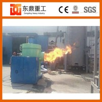 Biomass wood combustion burner for drying chicken manure,cow dung dryer