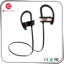 Newest design waterproof and sweatproof earphones bluetooth headset wireless with noise reduction
