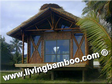 TROPICAL NATURAL BAMBOO HOUSE