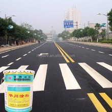 Excellent Abrasion resistance different colors bright Acrylic road marking paint