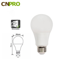 CE ROHS UL Listed LED A19 5W 7W 9W 12W Light bulb dimmable 40W Equivalent 3000K Warm White 470 Lumens, 25,000 Life Hours