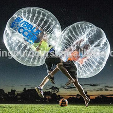 Fantastic sport inflatable globe ball costume, inflatable rugby ball for sale, adult bumper ball