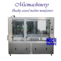 MIC-18-1 Professional manufacturer Monoblock 2-in-1 aluminum Can beverage filling equipment 1000-1500cph with CE