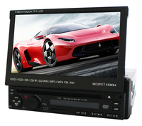 "7"" Screen Size and CE FCC Certification 1 Din 7"" inch Car DVD Player"