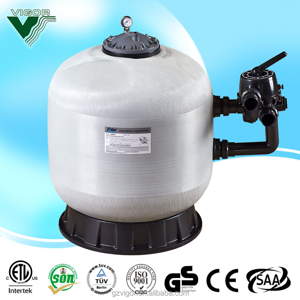 Factory production sand filter for swimming pool / sand filter for water treatment plant