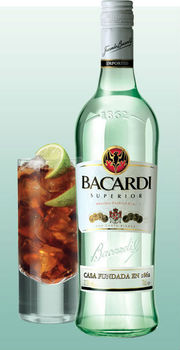 Bacardi superior rum buy bacardi rum tequila white rum for White rum with coke