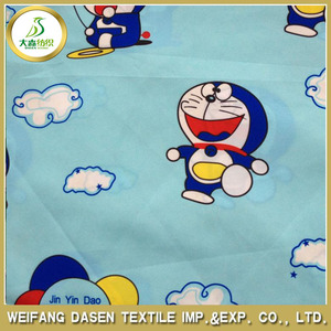 Japanese pattern Anime Bed Sheets print fabric Manufacturers in China Hot Sell