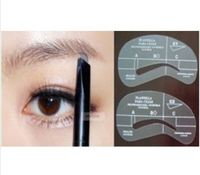 4pcs/lot Painted Eyebrow Pencil Model Eyebrow Template Stencil Makeup Tools DIY Shaping