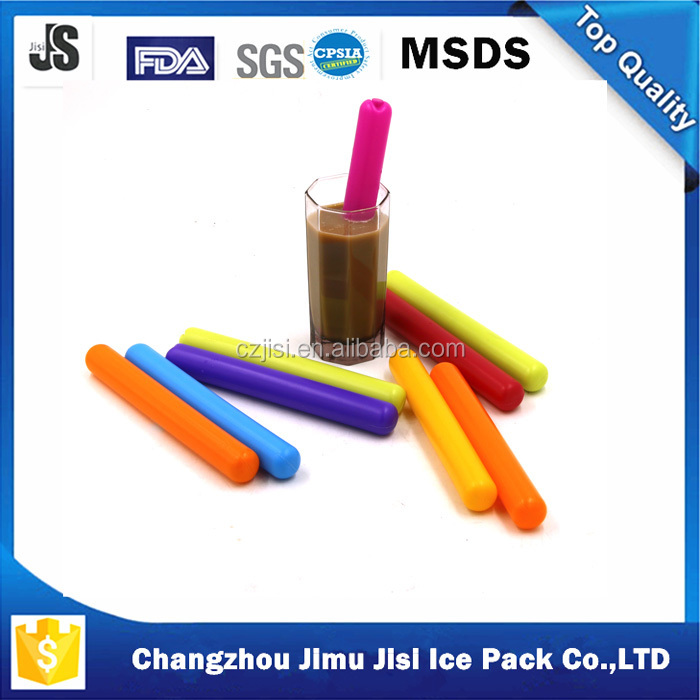 High performance PE cylindrical cold icicle stick