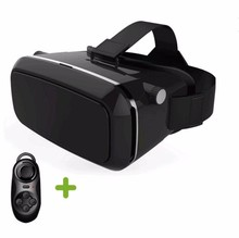 Virtual Reality 3D Glasses Head Mount google cardboard VR Headset For 3.5-6.0' Smartphones + Remote + Original box
