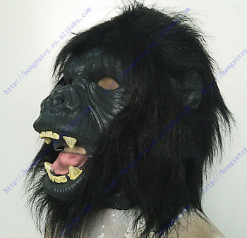 2013 hot selling king party masks for celebrations KING KONG OF gorilla mask