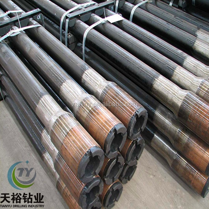 Manufacturers supply thread drill pipe for geological drilling