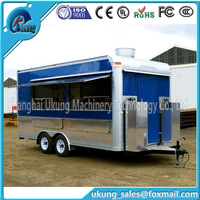 Ukung Made Hot Selling Street Vending Carts/food Truck For Sale In China Mobile Fast Kiosk/fast Mobile Food Trailer FV-210