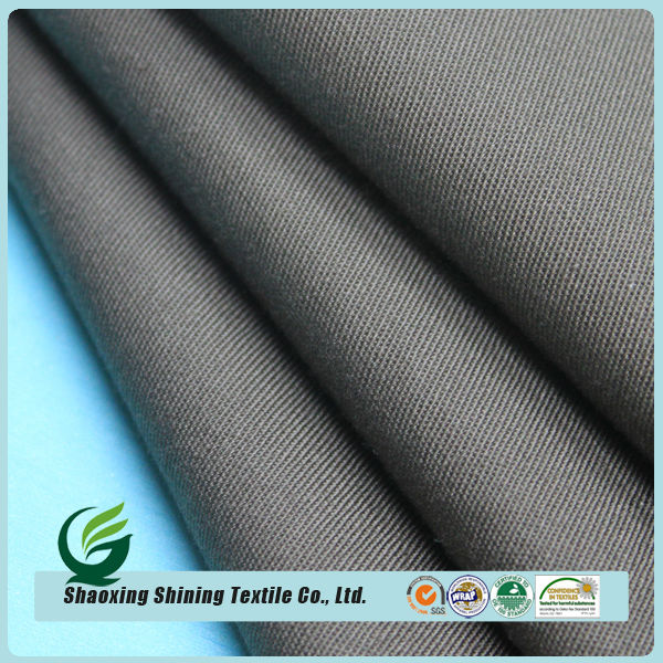 2015 cotton single yarn drill fabric for pants