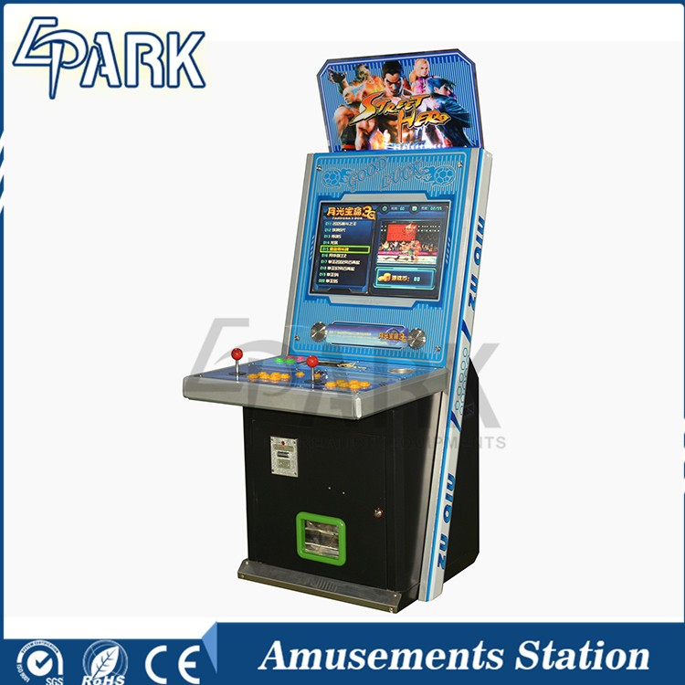 Pandoras Box Arcade 22 LCD Arcade Cabinet Video <strong>Game</strong> 100 in 1 machine