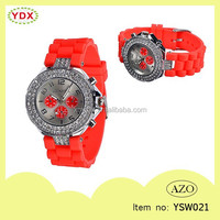 New design water resistant customized printed vogue watch