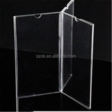 innovative product 6 side fancy acrylic notice board