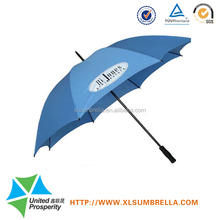 black color metal frame umbrella golf