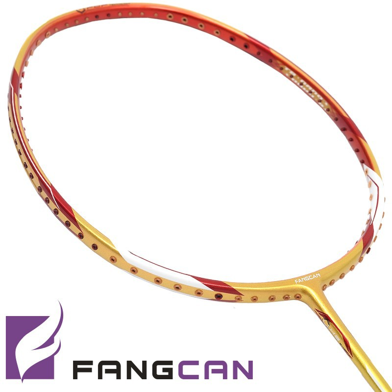 3pcs/lot FANGCAN <strong>100</strong>% <strong>H</strong>.M. Graphite badminton racket N90 with string and without cover