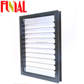 China wholesale hurricane impact windows and doors thermal break aluminium glass louver windows american style