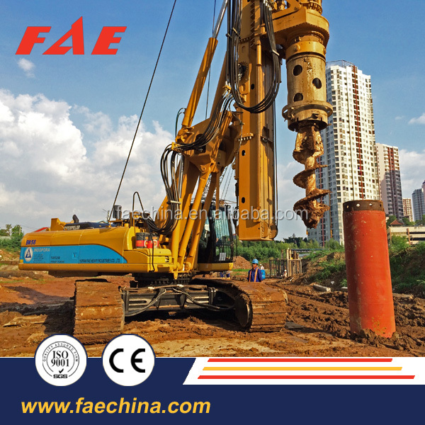 FAE Making money foundation equipment! High quality small crawler rotary drilling rig FAR120!