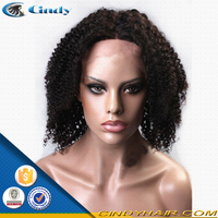 New Arriva Virgin halle berry short style brazilian virgin hair full lace wig