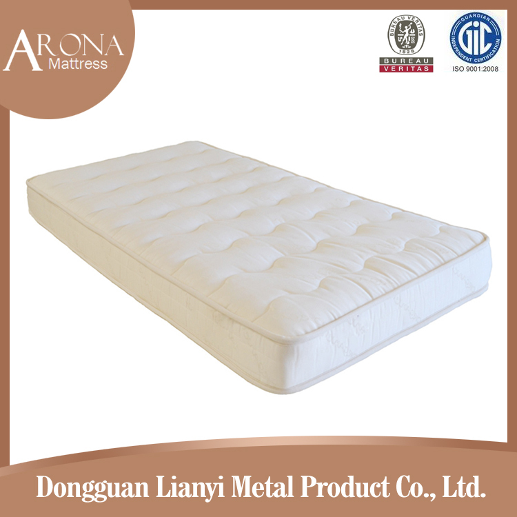 2017 High Quality deep sleeping push comfortable single bed latex memory foam mattress/matress with wholesale price