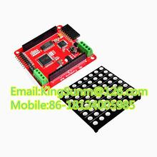 Full-color 8 * 8 LED RGB Matrix Dot Screen Module + Driver Board for A FZ0455 Free Shipping Dropshipping