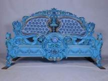 Elegant Bedroom Palace Furniture Blue 1