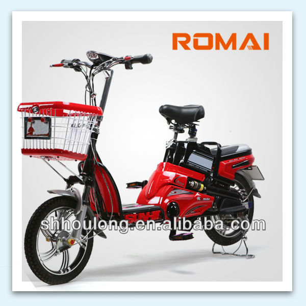 Romai! hot sale electric bicycle made in china export to india