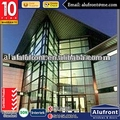 Visible System Curtain Wall For Shop Front