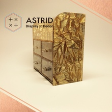 Jewelry Shop Showroom Rack Display Portable Display Jewelry Shelves for Useful Deluxe Acrylic Earring Jewelry Display