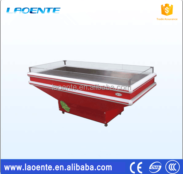 Glacial Table Frozen Food Ice seafood Display Table